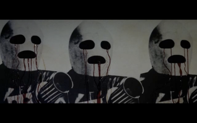 Lords of Salem bleeding wall
