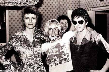 Bowie, Iggy and Lou