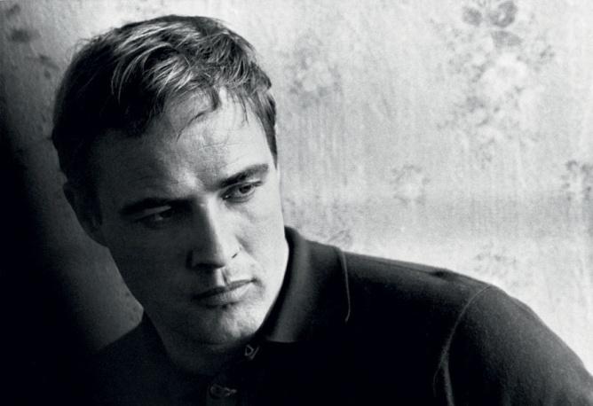 Marlon Brando by  Bert Stern 1963.
