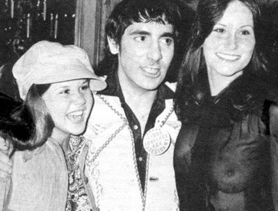 Linda Blair, Keith Moon and Linda Lovelace