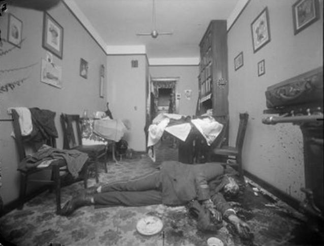 Homicide #1732 PTL. John Flood July 3, 1917