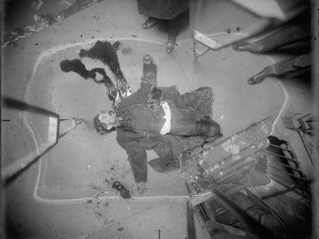 Homicide victim male, 1916-1920