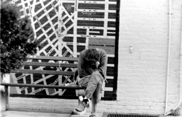 Photo par Tobe Damit, New-York, 1987