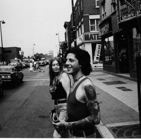 Denis et Josée rue Ontario 1983