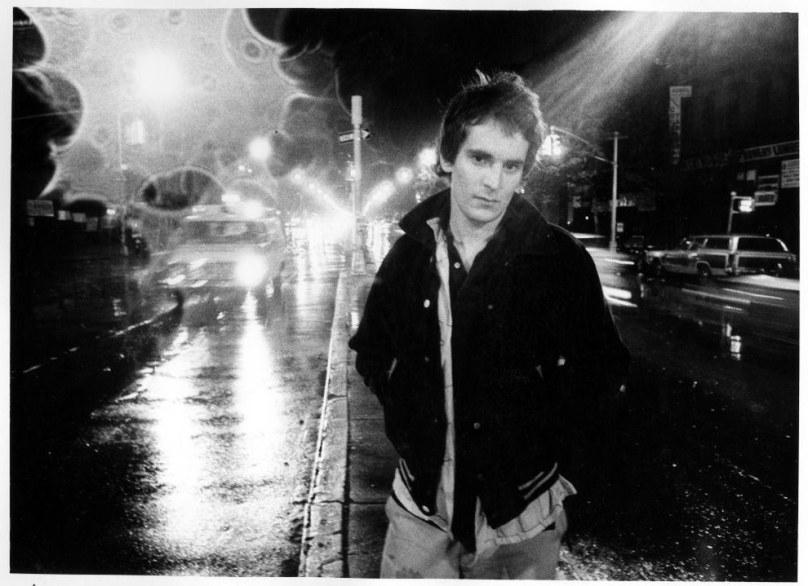 7. Singer-songwriter Alex Chilton (1977).