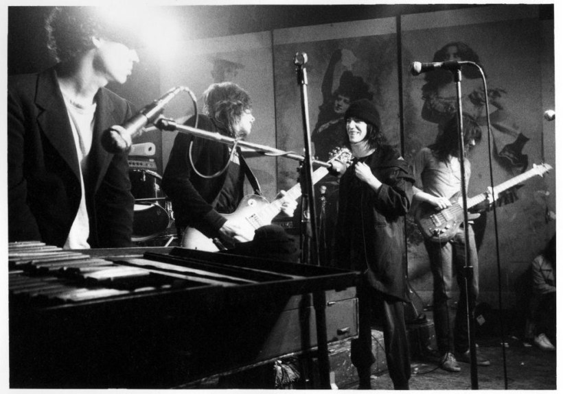 8. Patti Smith performing with the Patti Smith Group (1977).