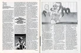 """Burroughs' """"Time of the Assassins"""" column in Crawdaddy! magazine mid 70's."""