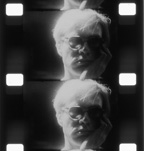Film strip of Andy Warhol,