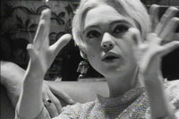 Photo of Edie Sedgwick from Danny William's film entitled Harold Stevenson.