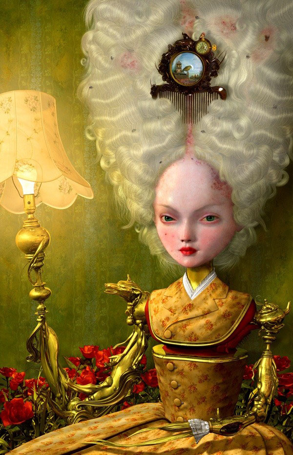 5-messenger-painting-by-ray-caesar
