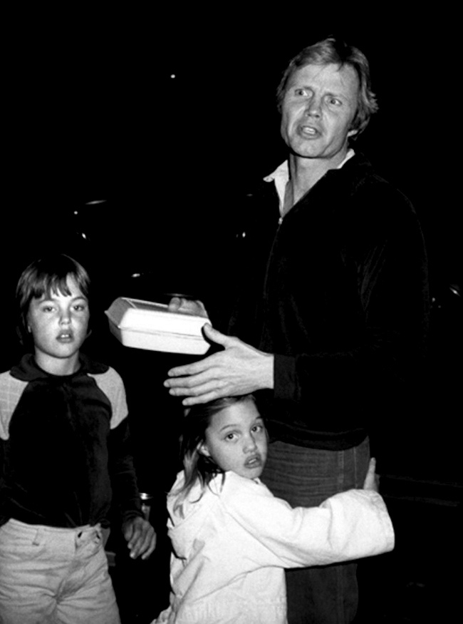 James Haven Voight, Angelina Jolie, and Jon Voight