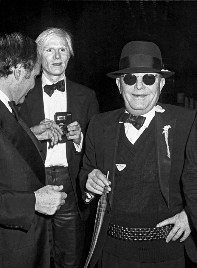 Lester Persky, Andy Warhol and Truman Capote