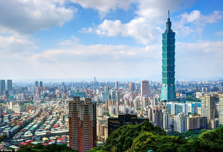 Taipei City in Taiwan where the site was built but later demolished to make way for a new water park