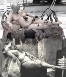 Voss', Alexander McQueen, 2001 X 'Sanitarium', Joel Peter Witkin, 1983