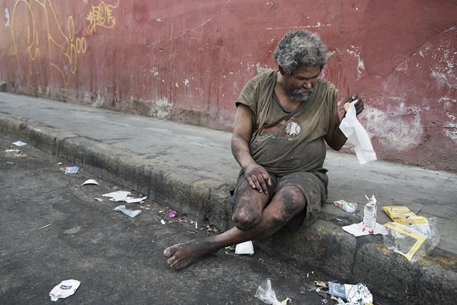 Homeless Man, León, Nicaragua