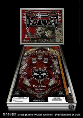 Bronco redone as a Voivodian Pinball Machine!!