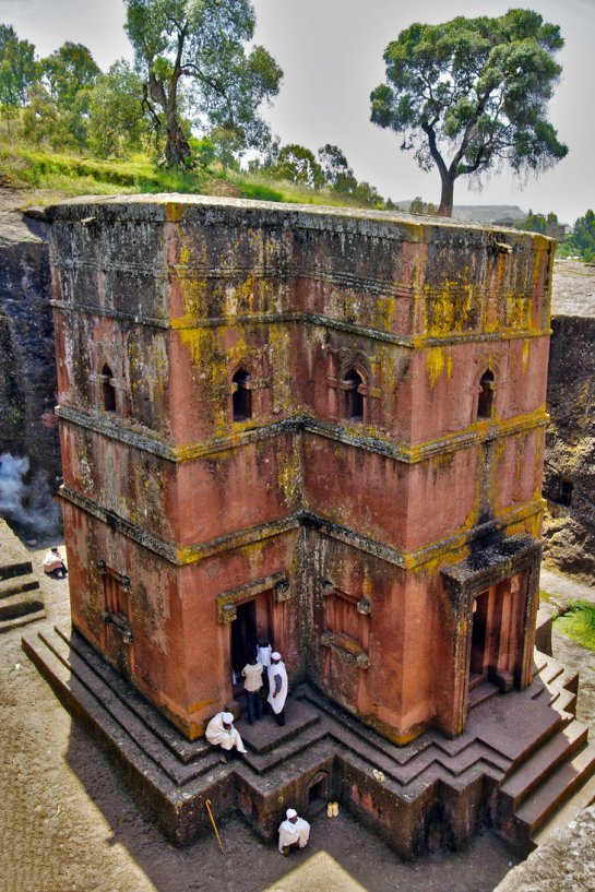 Church of aint eorge Lalibela