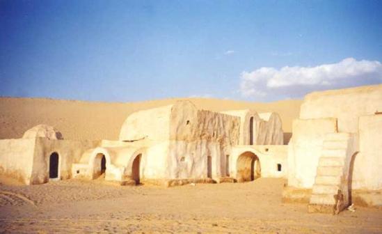 Desert Oung Ejmel, Tunisia