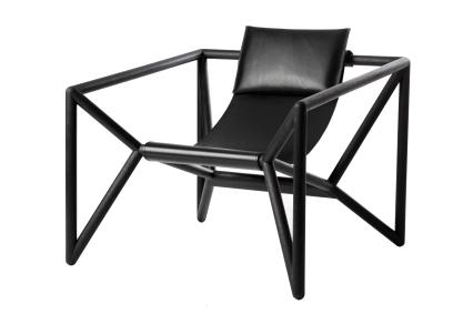 NWW_M3_Loungechair_schwarz-mit-Rckenkissen