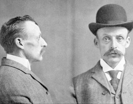 Albert Fish Mugshot in 1903.