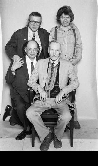 Beats: Corso, Burroughs, Ginsberg, Orlovsky