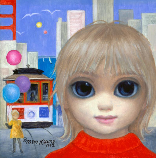 Artist Who Painted Big Eyes