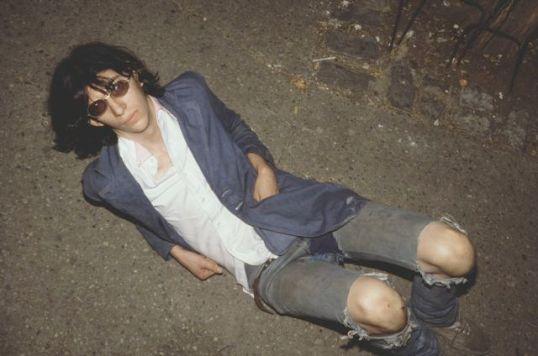 Joey Ramone by Marcia Resnick