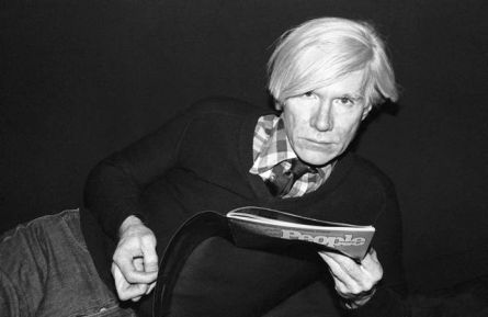 Andy Warhol by Marcia Resnick