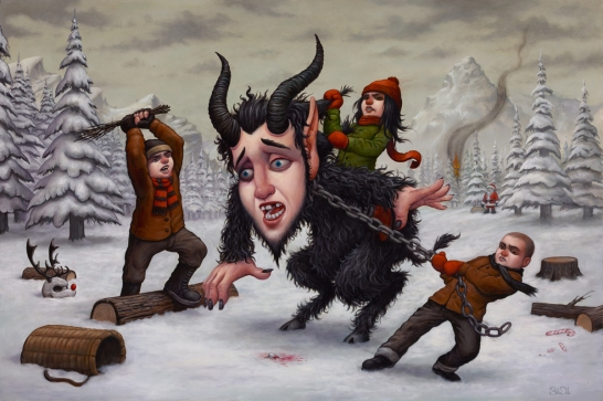 """Tables Have Turned"" Krampus , 2014"
