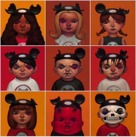 Black Eyes Mouseketeers