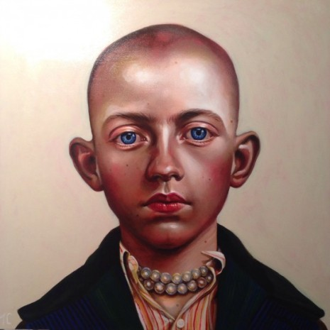 Boy With a Pearl Necklace