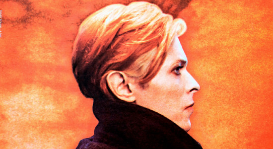 "Bowie on the cover of his 1977 album ""Low."