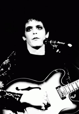 Lou Reed performing in UK at Scala Cinema,King's Cross,London on 15th of July 1972.