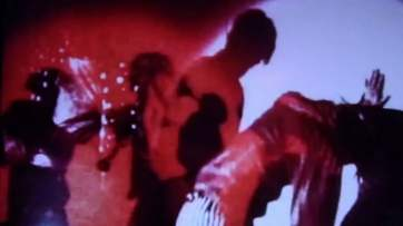 The Exploding Plastic Inevitable effects featured while VU were performing onstage but the show was offstage as well with lots of special effects.