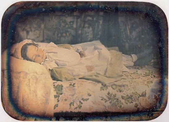 Frank. Dead girl, Daguerrotype, June 1857