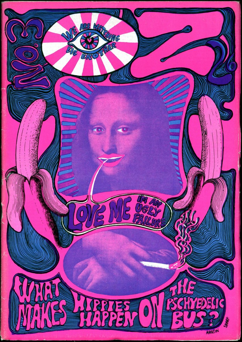 Issue three: the Mona Lisa cover. Photograph: University of Wollongong Archives