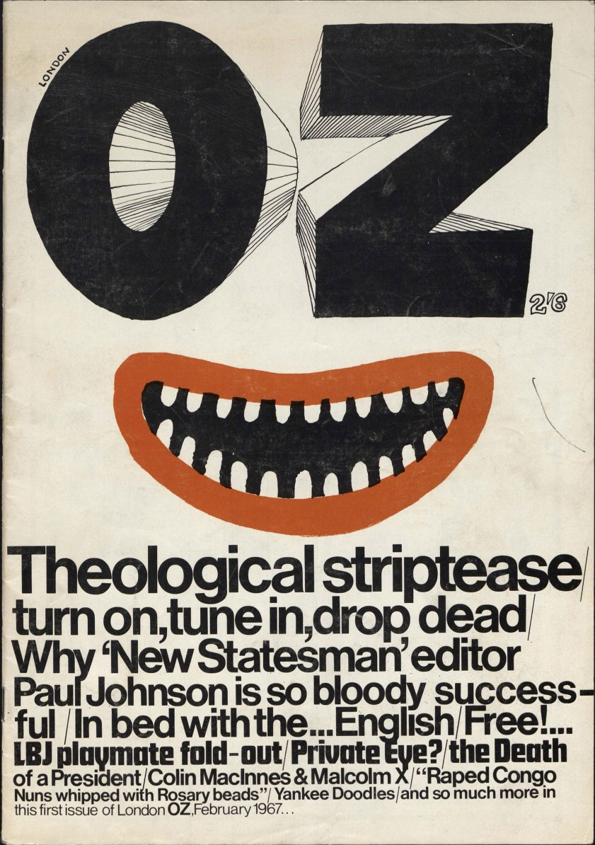The first issue of London Oz, published in January 1967. Photograph: University of Wollongong Archives