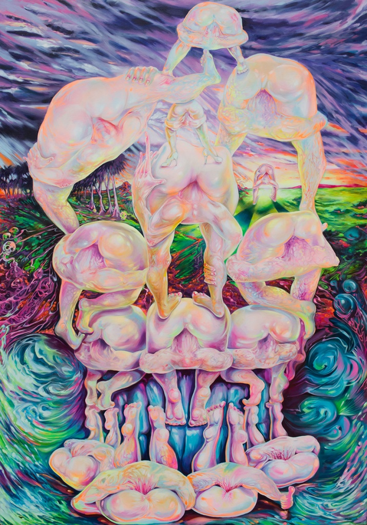 Already Dead 2015, oil on canvas, 235x165cm