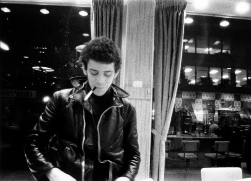 Lou Reed at the luncheonette on the corner of 47th Street and 3rd Avenue,1967