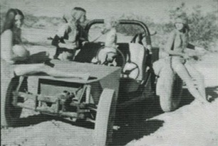 One of Manson Family's Helter Skelter Dune Buggy