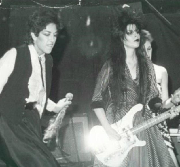 Alice Bag, lead singer for The Bags