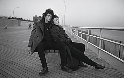 "ANNIE LEIBOVITZ - ""Lou Reed and Laurie Anderson Coney Island, New York, 1995"""