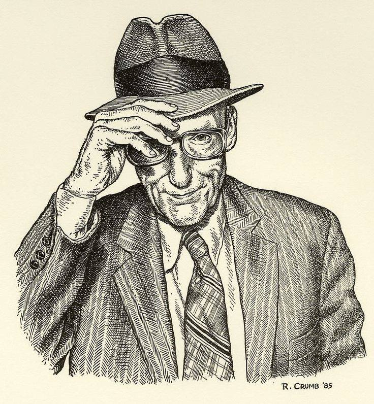 burroughs-by-crumb
