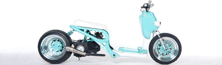 Spiffy Custom HondaRuckus